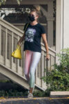 Rebecca Romijn Leaves Spa Malibu