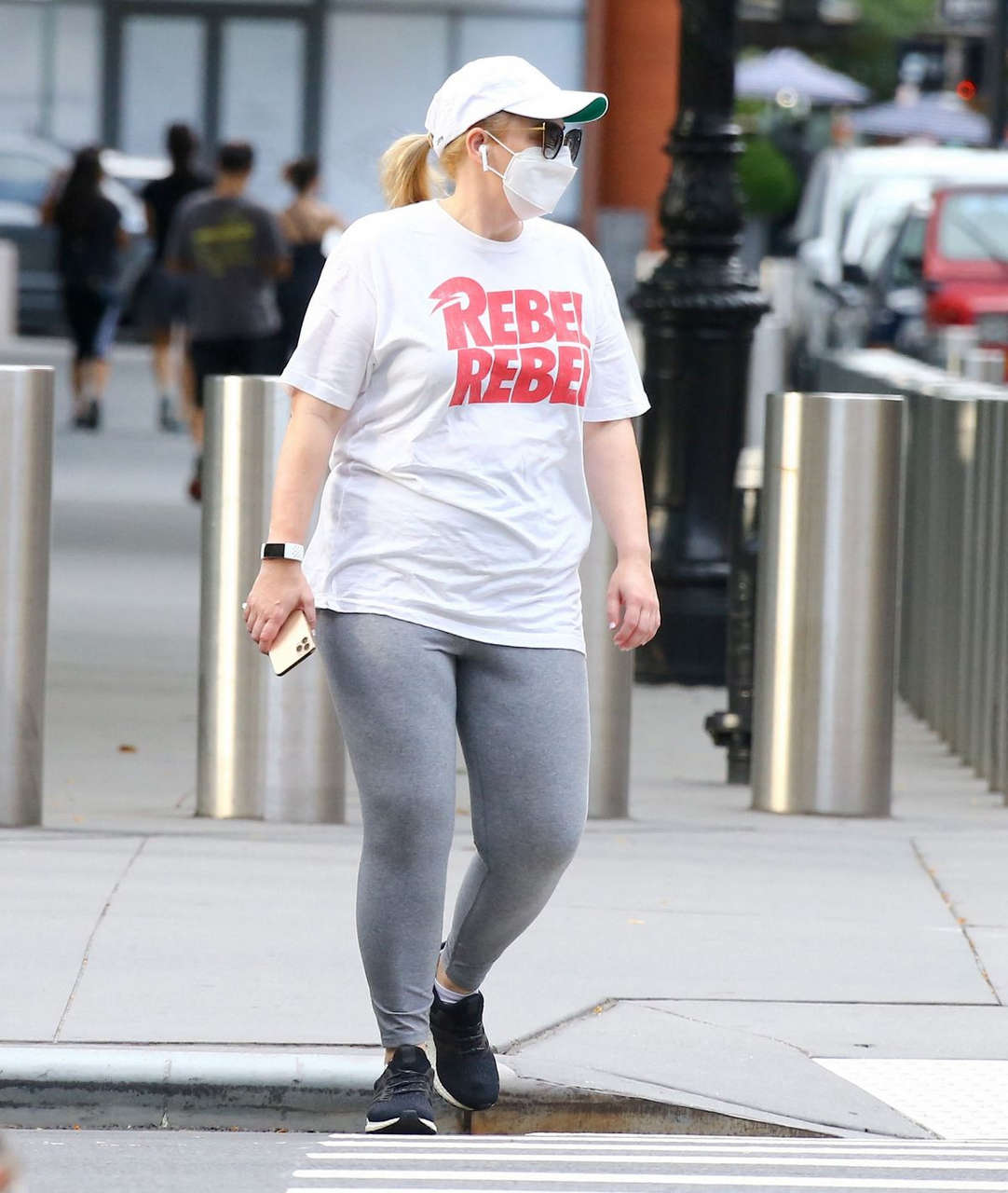 Rebel Wilson Out About New York