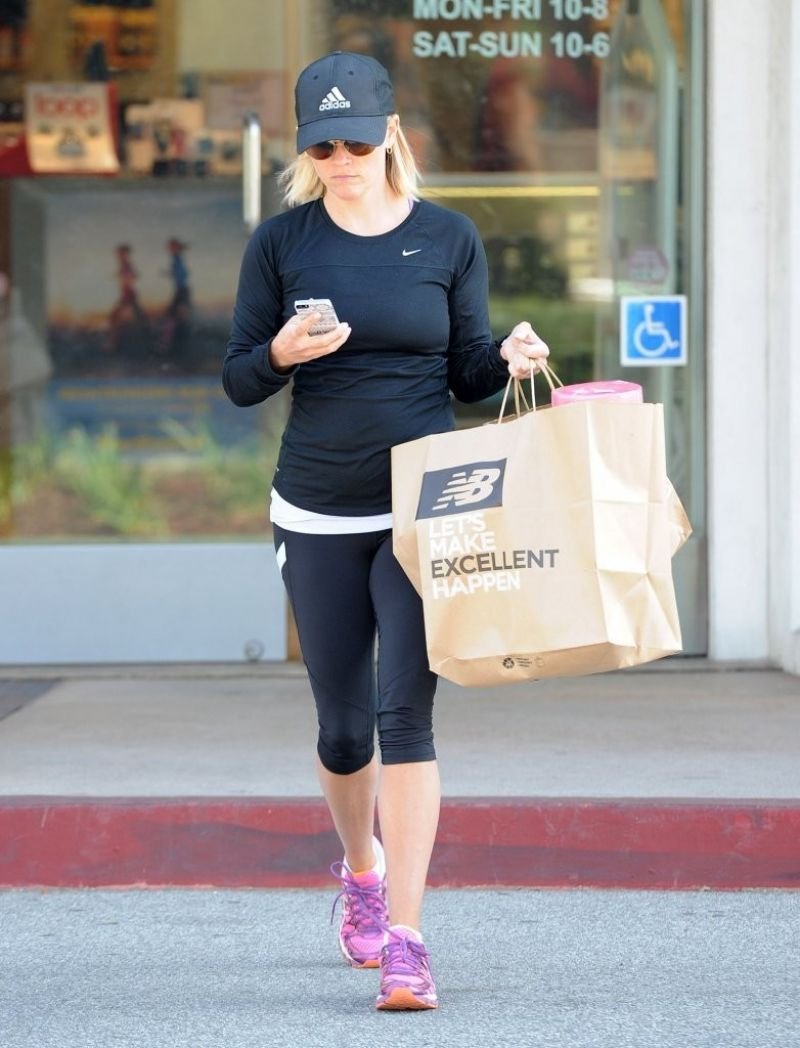 Reese Witherspoon Out Shopping Brentwood