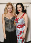 Renee Olstead Dita Von Teese Collection Launch Party Los Angeles