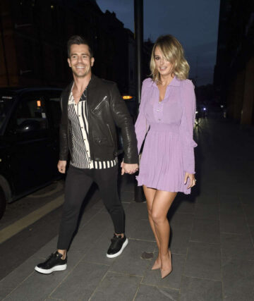 Rhian Sugden Night Out Manchester