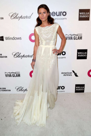 Rhona Mitra Elton John Aids Foundation Oscar Party Los Angeles