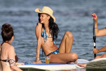 Rihanna Bikini Candids Beach Hawaii