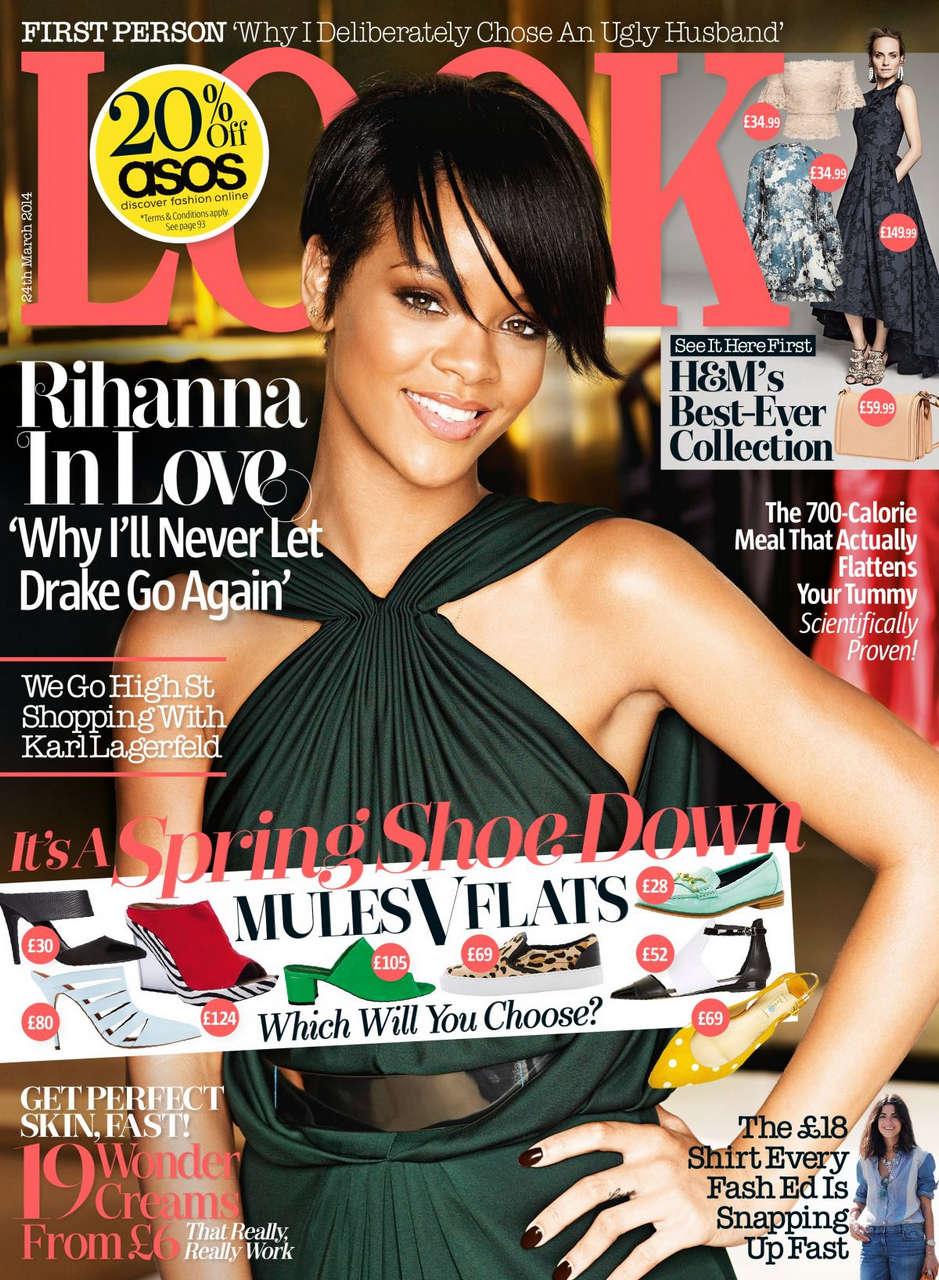 Rihanna Look Magazine March 2014 Issue
