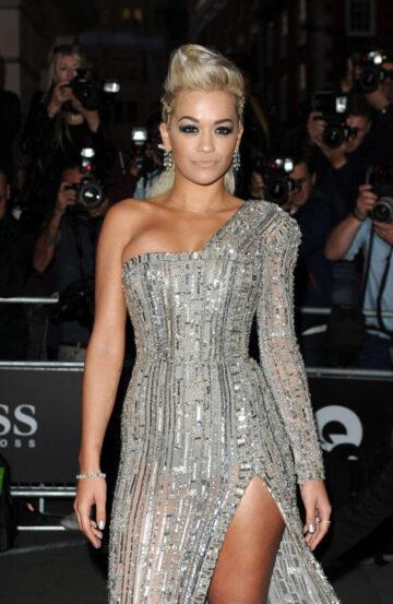 Rita Ora 2014 Gq Men Year Awards London