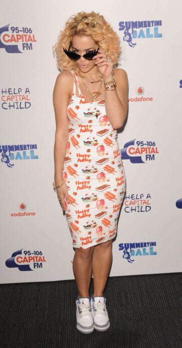 Rita Ora 95 106 Capital Fm Summertime Ball 2012 London