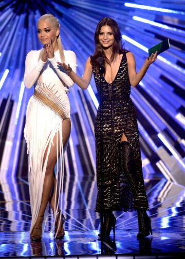Rita Ora And Emily Ratajkowski