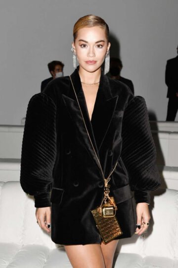 Rita Ora Fendi Spring Summer 2021 Show Fashion Week Milan