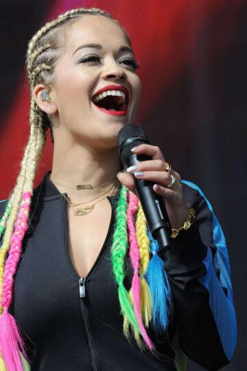 Rita Ora Performs Bbc Radio 1 Big Weekend Glasgow
