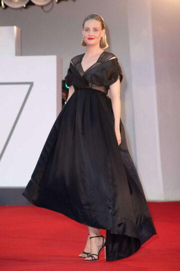 Romola Garai Miss Marx Premiere 2020 Venice Film Festival