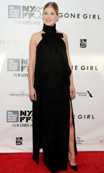 Rosamund Pike Gone Girl Premiere New York