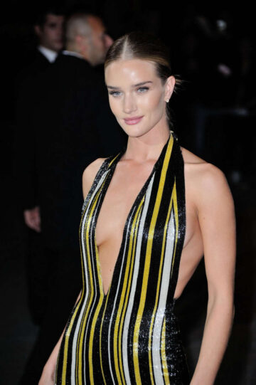 Rosie Huntington Whiteley Cr Fashion Book Issue 5 Launch Party Paris