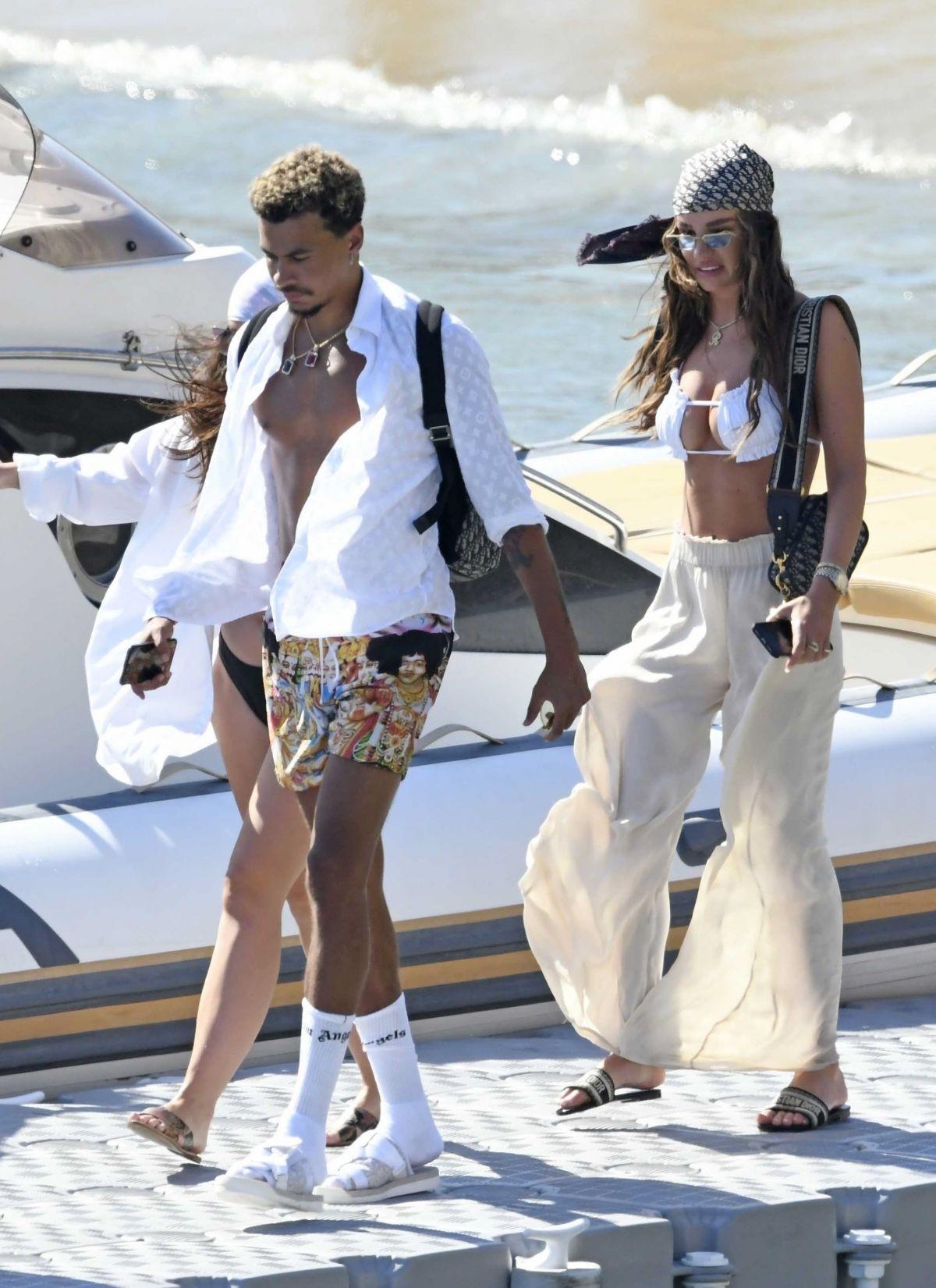 Ruby Mae Bikini Top Boat Greece