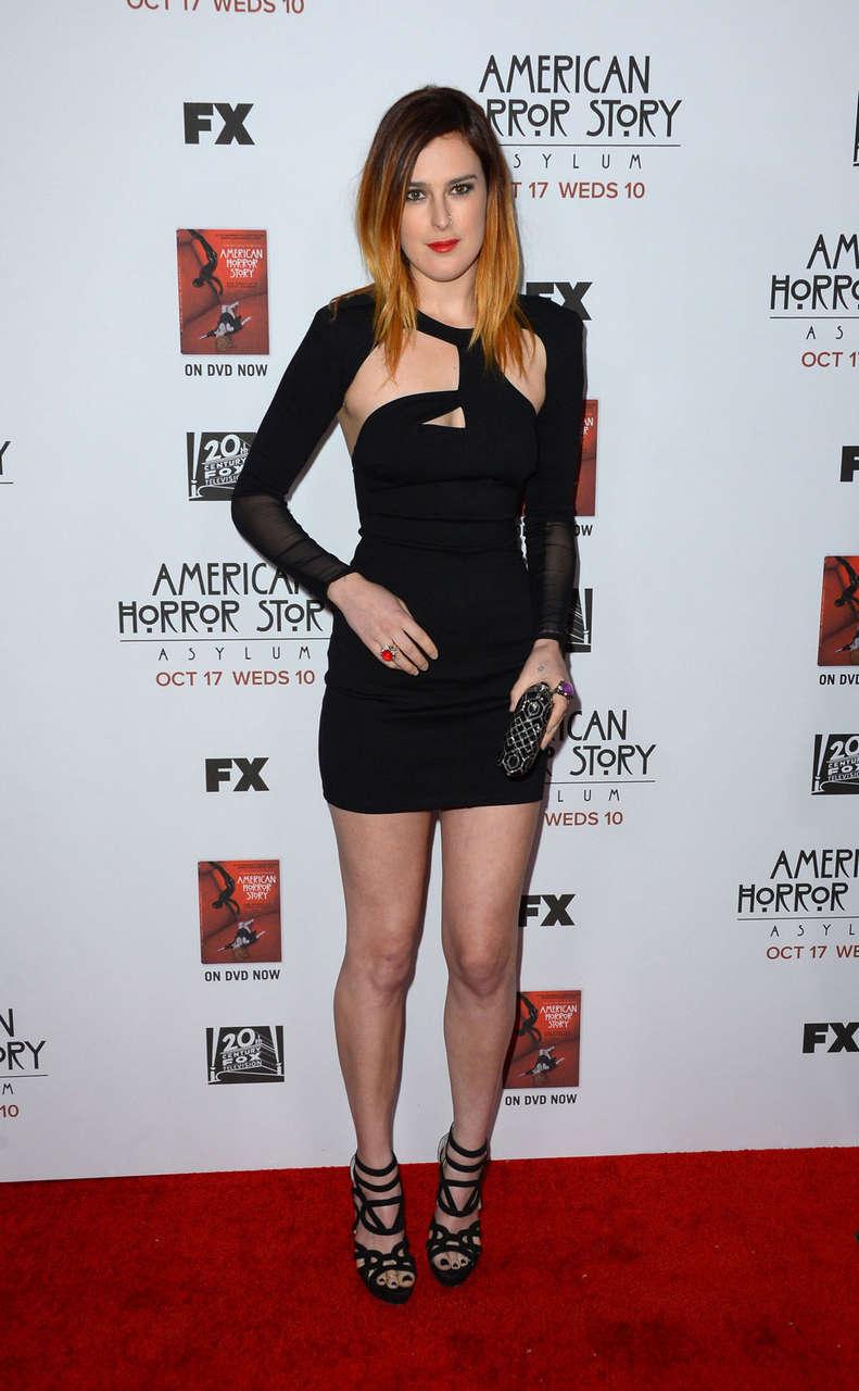 Rumer Willis American Horror Story Asylum Premiere Los Angeles
