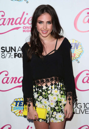 Ryan Newman Candies Official Teen Choice 2014 Pre Party Los Angeles