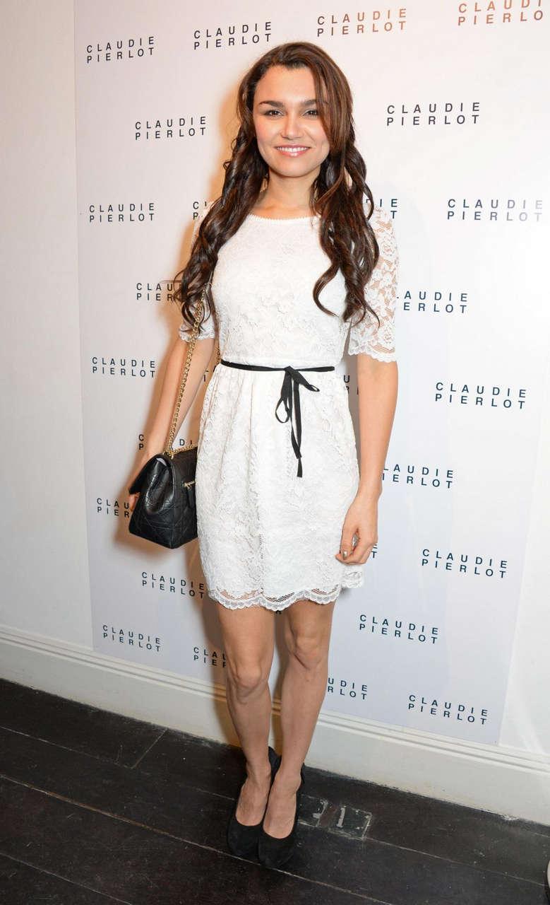 Samantha Barks Claudie Pierlot Uk Launch Party London