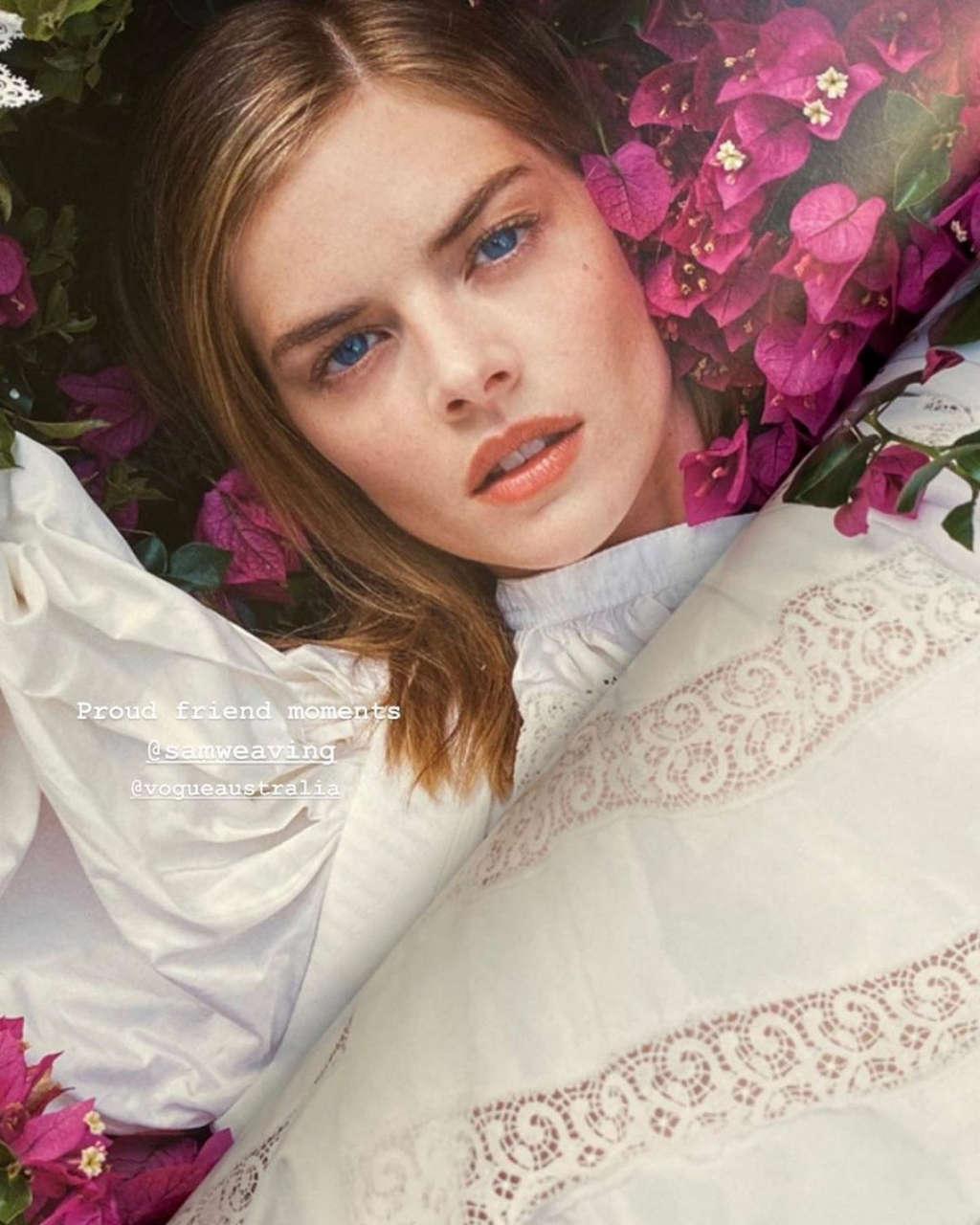 Samara Weaving For Vogue Magazine Australia September