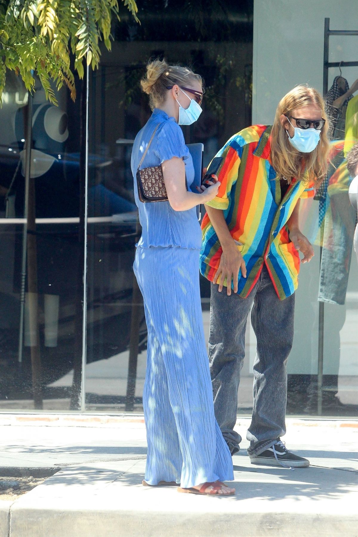 Samara Weaving Out About West Hollywood
