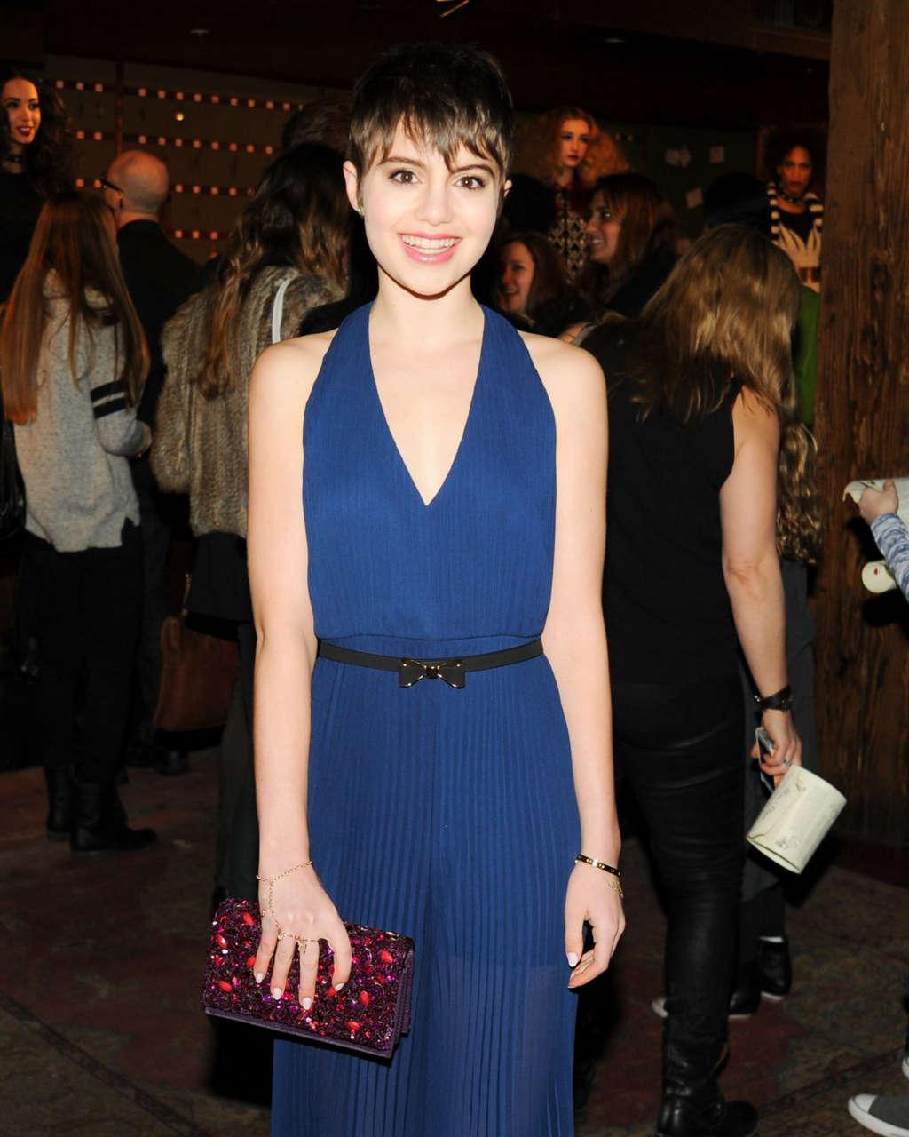 Sami Gayle Alice Olivia Fall 2014 Fashion Show New York