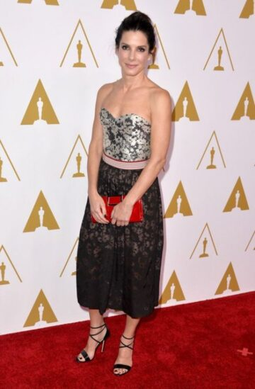 Sandra Bullock 2014 Academy Awards Nominees Luncheon Beverly Hills