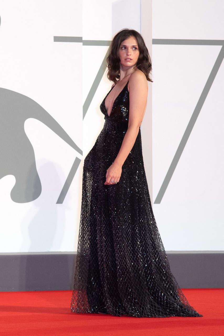 Sara Serraiocco Thou Shalt Not Hate Premiere 77th Venice International Film Festival