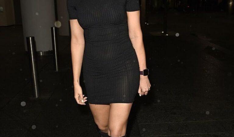Sarah Jayne Dunn Night Out Manchester (4 photos)