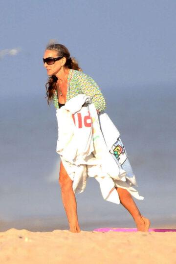 Sarah Jessica Parker Beach Hamptons
