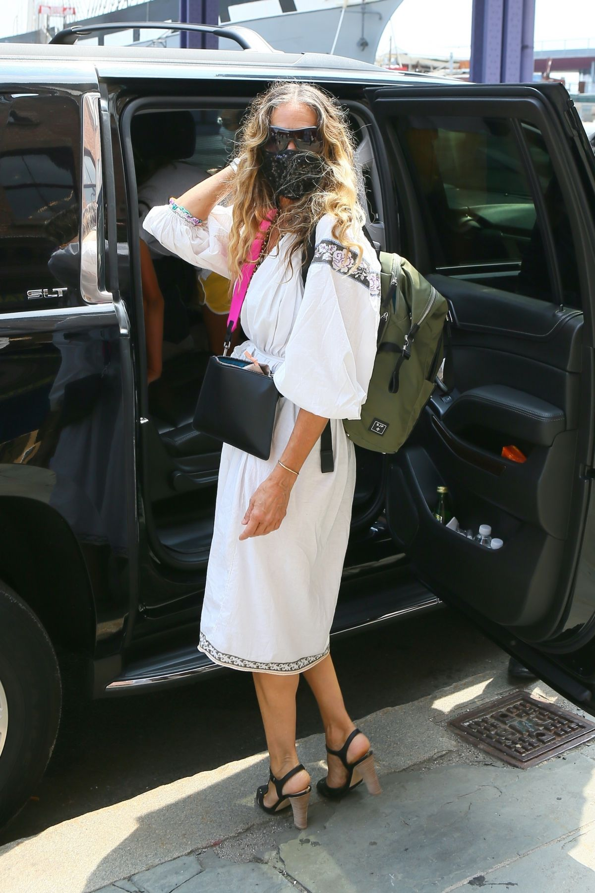 Sarah Jessica Parker Leaves Her South St Seaport Shoe Store