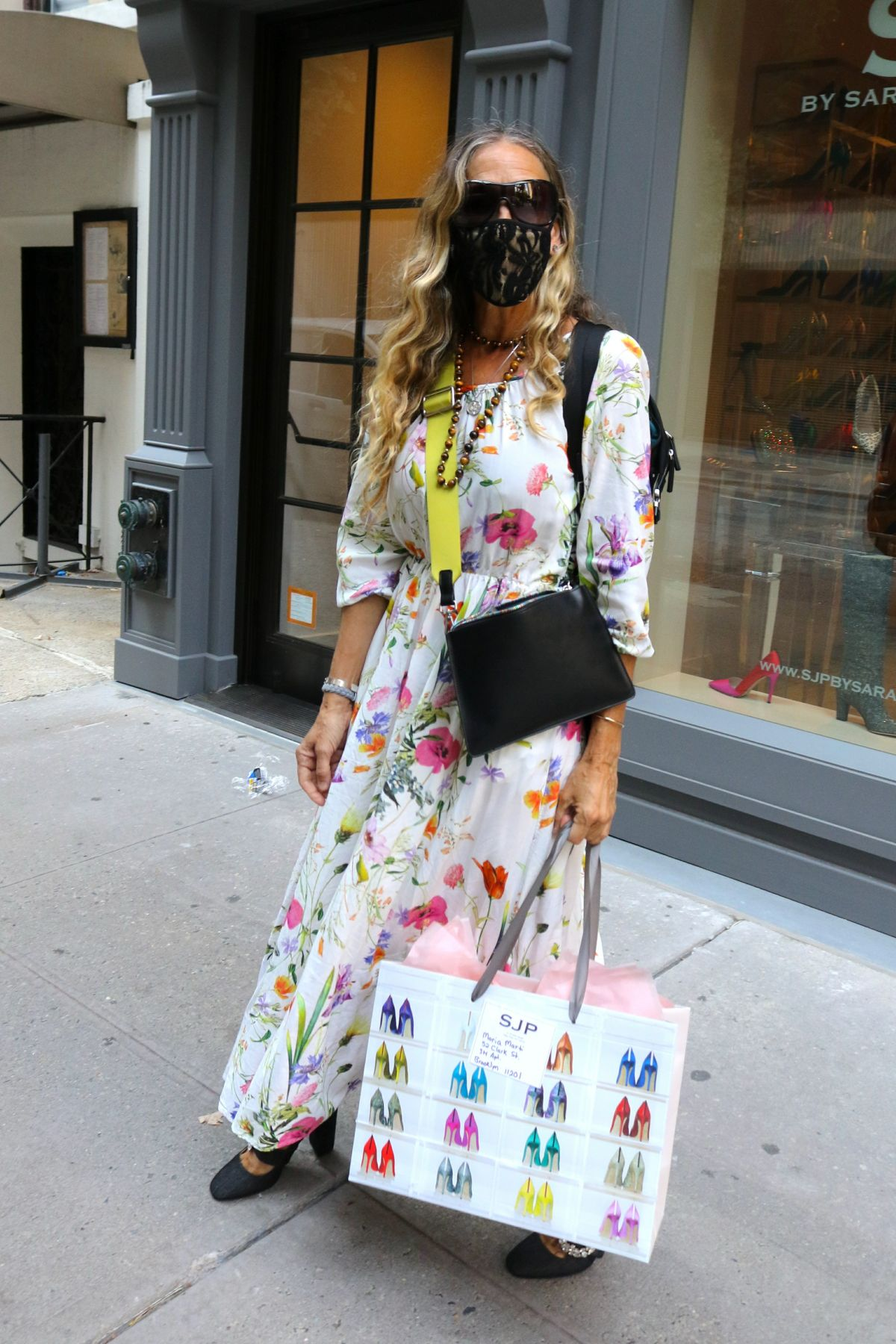 Sarah Jessica Parker Out About New York