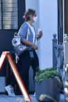 Sarah Michelle Gellar Out About Brentwood