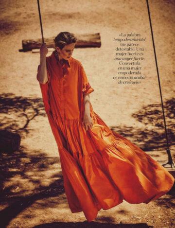 Sarah Paulson Elle Magazine Spain September