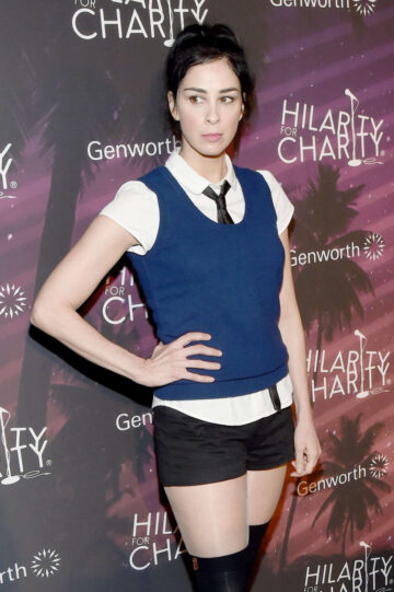 Sarah Silverman Hilarity For Charity Variety Show Hollywood