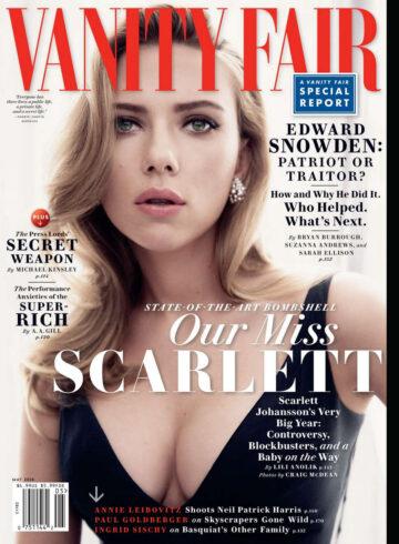 Scarlett Johansson Vanity Fair Magazine May 2014 Issue