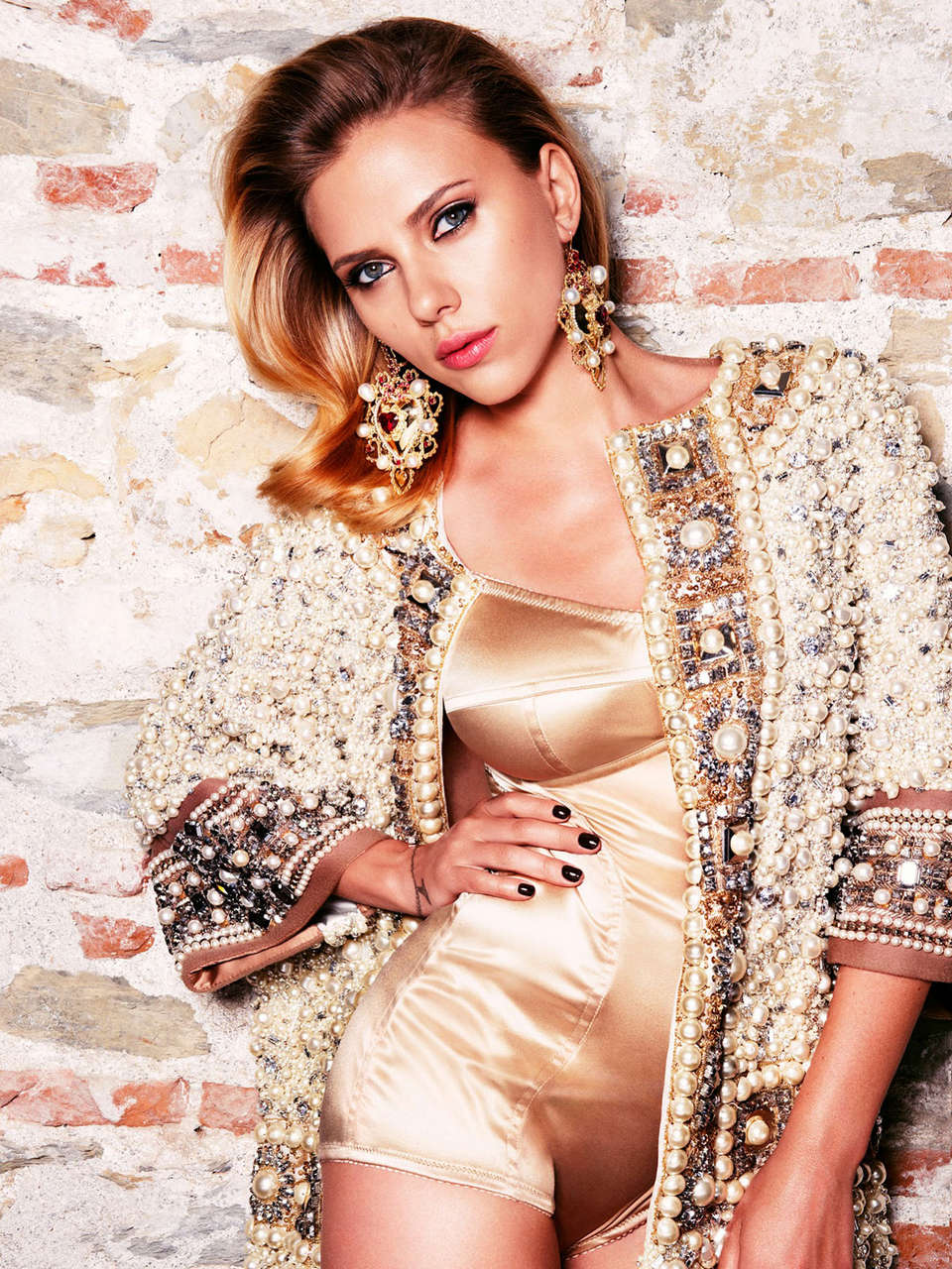 Scarlett Johansson Vogue Magazine Russia October 2012 Issue