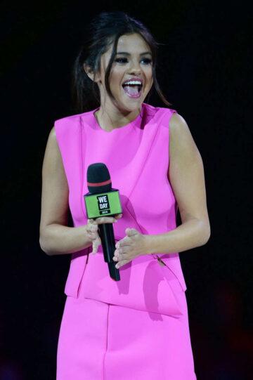 Selena Gomez Hosting We Day Vancouver Vancouver