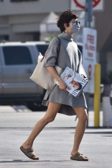 Selma Blair Out Shopping Studio City