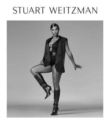 Serena Williams For Stuart Weitzman Fall Winter 2020 Campaign