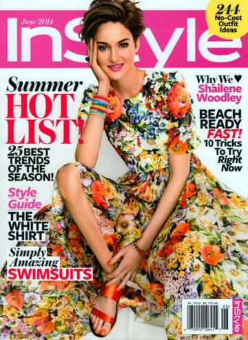 Shailene Woodley Instyle Magazine June 2014 Issue