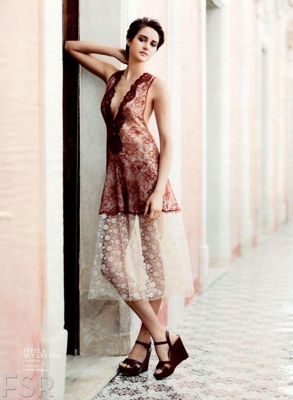 Shailene Woodley Instyle Magazine March 2014 Issue