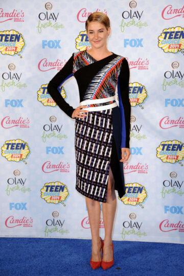 Shailene Woodley Teen Choice Awards 2014 Los Angeles