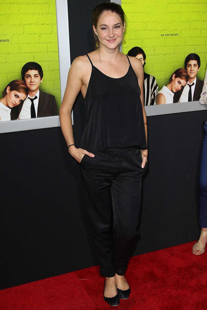 Shailene Woodleyat Perks Being Wallflower Premiere Los Angeles