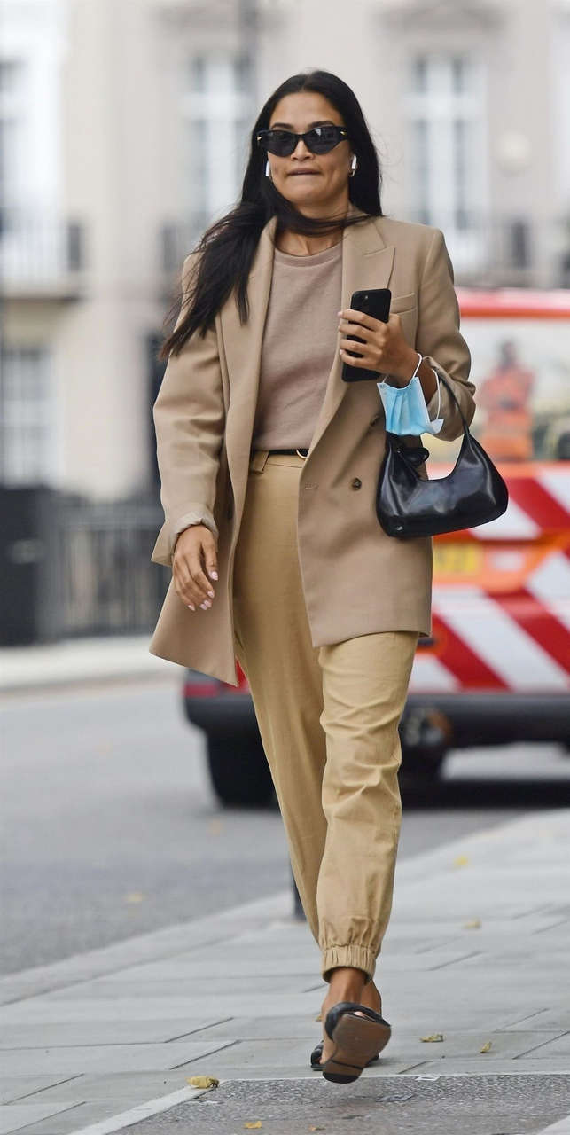 Shanina Shaik Out London