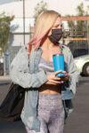 Sharna Burgess Arrivesa Dwts Studio Los Angeles