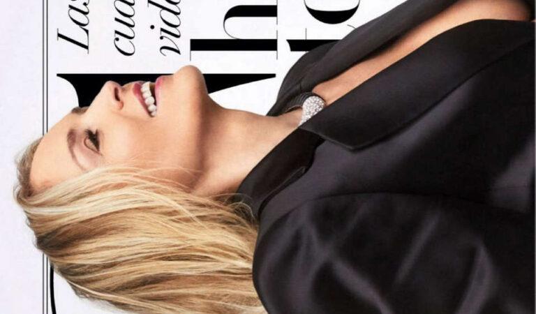Sharon Stone Vanity Fair Magazine Spain October (5 photos)
