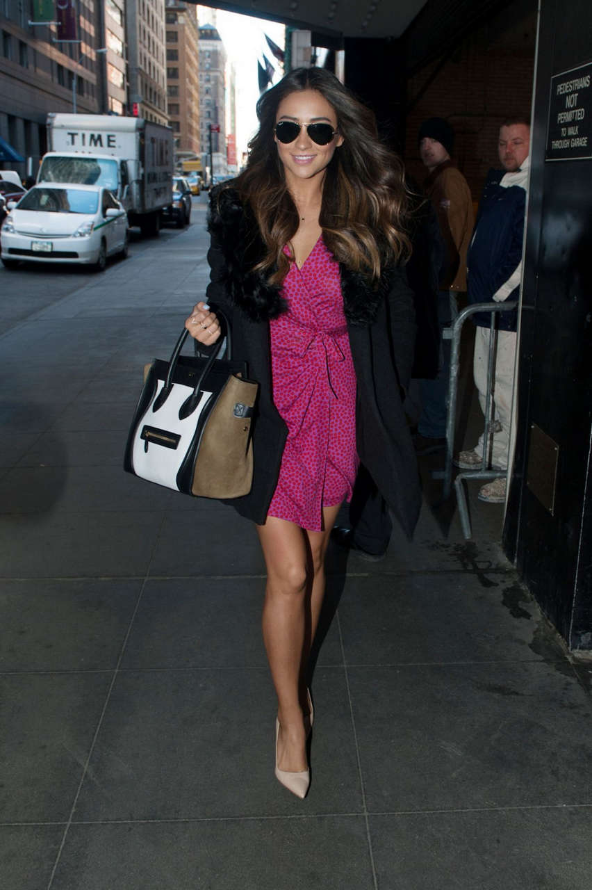 Shay Mitchell Out About Manhattan