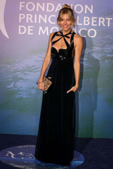 Sienna Miller Monte Carlo Gala For Planetary Health