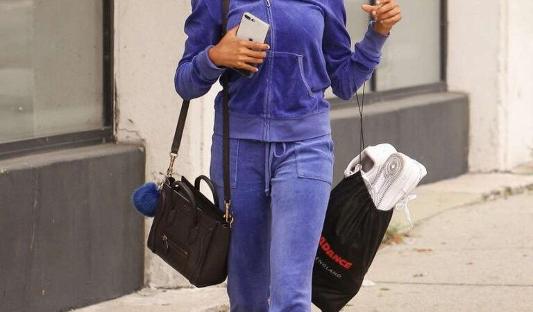 Skai Jackson Headig To Dancing With Stars Studios Los Angeles (3 photos)