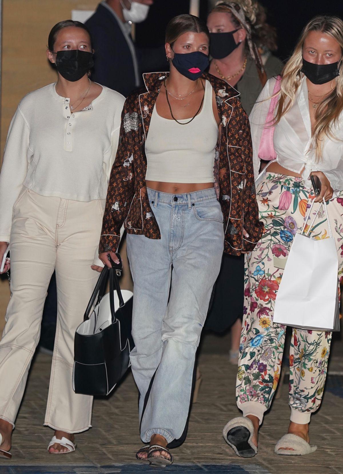 Sofia Richie Leaves Nobu Malibu