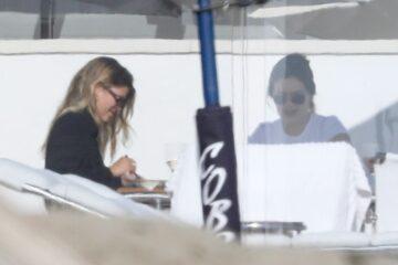 Sofia Richie Out Llunch With Friend Malibu