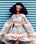 Solange Knowles Harpers Bazaar Magazine April 2014 Issue